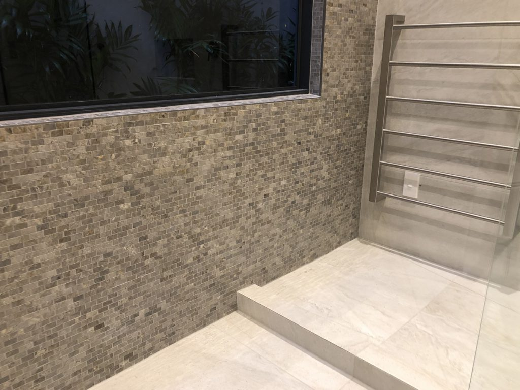 Bathroom tiling and waterproofing - Freemans Bay, Auckland