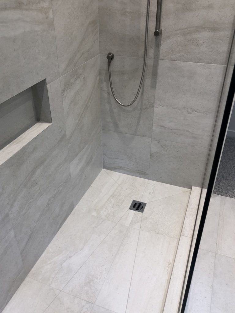 Bathroom tiling and waterproofing - Herne Bay, Auckland