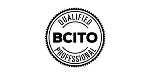 BCITO qualified professional tiler logo